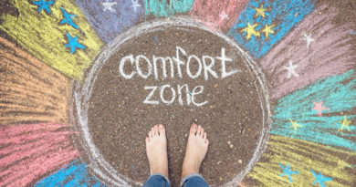Out of the Comfort Zone!