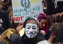 Anti-fur protesters disrupt London Fashion Week again